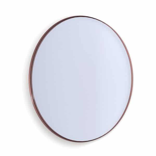 Deep Frame Circular Mirror - Copper -30mm