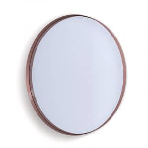 Deep Frame Circular Mirror - Copper -50mm
