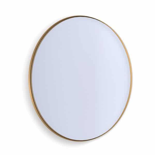 Deep Frame Circular Mirror - Gold -30mm