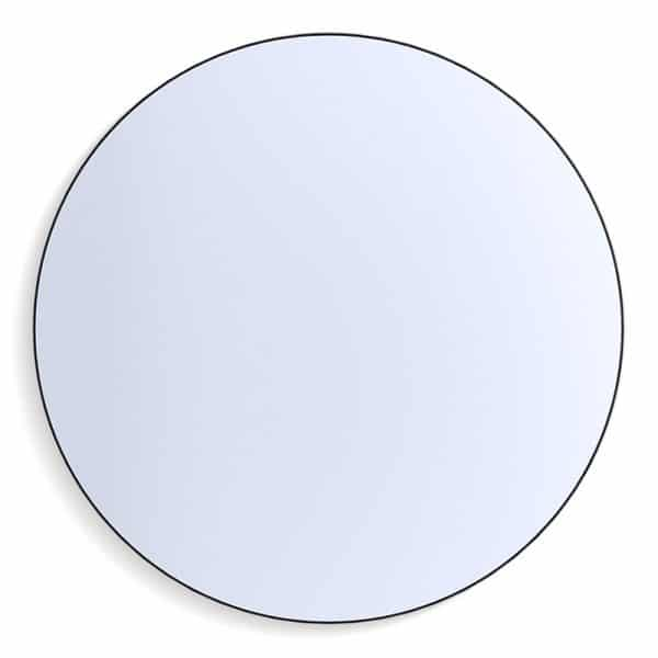 Classic Circle Mirror Black