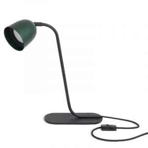 Table Lamp - Black Green