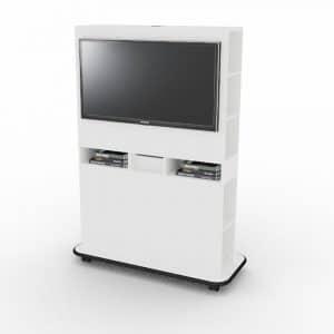 , Mobile TV Stand Details, Design Lab