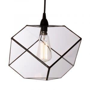 Glass Cube Pendant 2