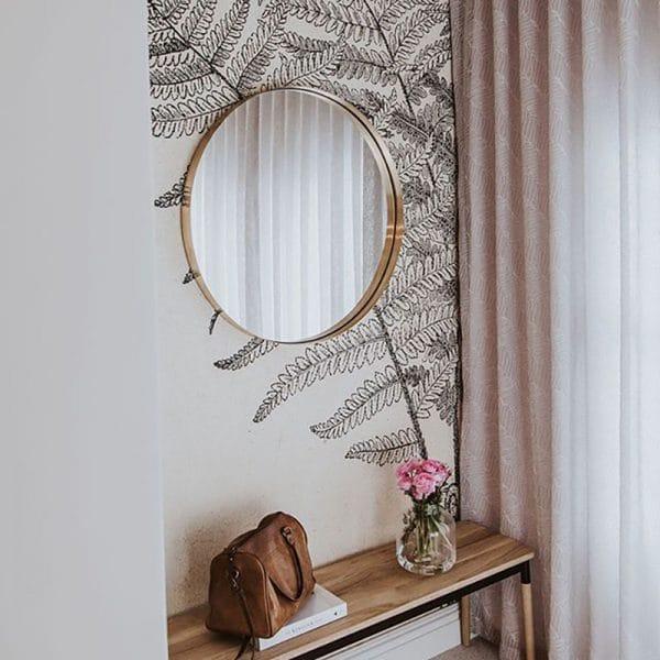 DF Circle Mirror Insitu 2