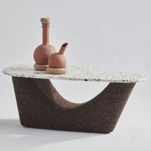 , Terrazzo & Cork Coffee Table, Design Lab